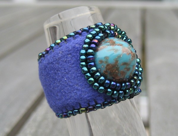 Ring Dome Turquoise