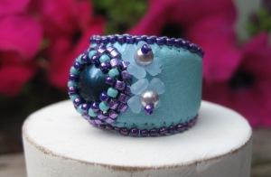 Ring Petrol & Purple (2)