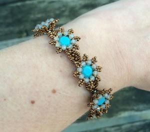 Armband La Fleur Turquoise 2