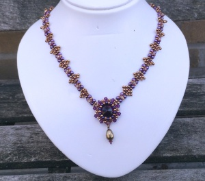 Ketting Midnight Magic Purple 1