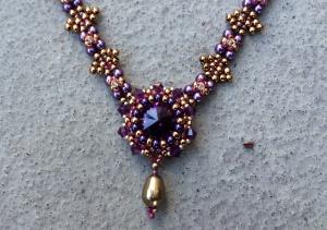 Ketting Midnight Magic Purple 2