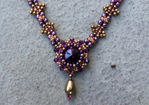 Ketting Midnight Magic Purple 2