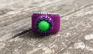 Ring Neon Green