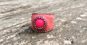 Ring Neon Pink