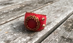 Ring Ruby Red