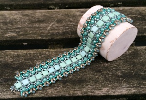 Armband Honeycomb Mint
