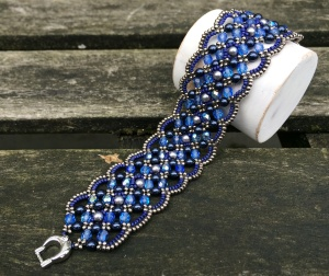 Armband Maroon Bien Bleu 2