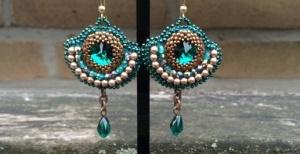 oorbellen Emerald Diamonds 2