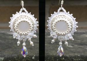 oorbellen white bride 2