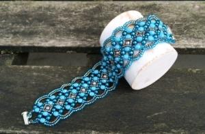 Armband Maroon Turquoise
