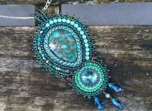 Hanger Green Turquoise