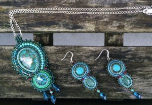 Set Green Turquoise