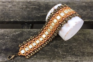 Armband Herfst Honeycomb
