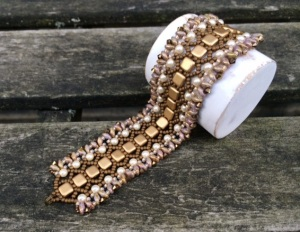 Armband Honeycomb Bronze