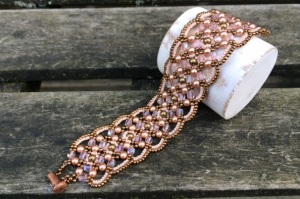 Armband Maroon Rose Gold
