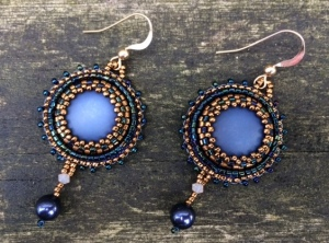 Oorbellen Royal Blue drops