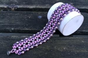 Armband O-Pink