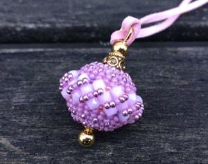 Hanger Lunabead Alabaster Pink