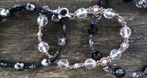 Armbandjes Mingles Black & Silver 2