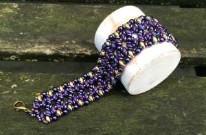 Armband O Purple