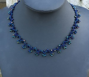 Ketting Indigo Blue Tears