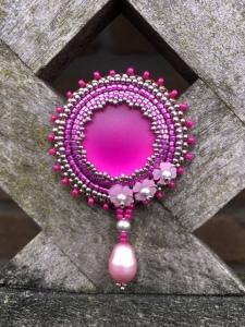 Broche Hot Pink