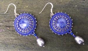 Oorbellen Blue Blue