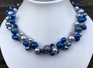Parelketting Blue