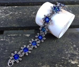 Armband La Fleur Blue