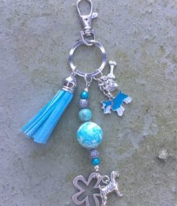 tassenhanger-schnauzer-turquoise