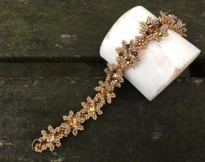 armband-la-fleur-bronze