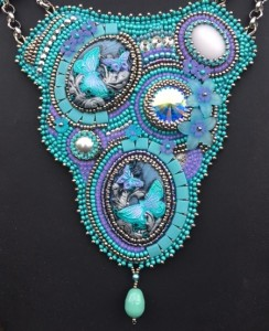ketting-butterflies-bling-detail