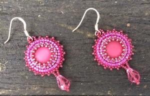 oorbellen-mini-fuchsia-drops